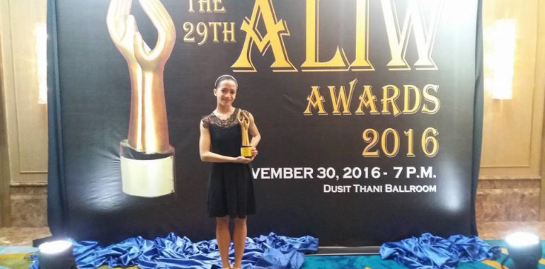 Jessa Balote Wins Aliw Award as Best Classical Dancer